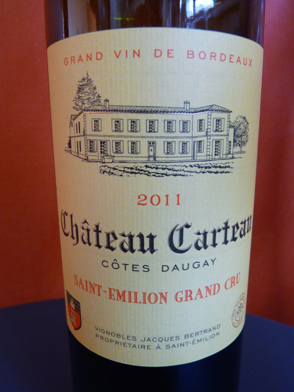 Chateau Carteau 2011