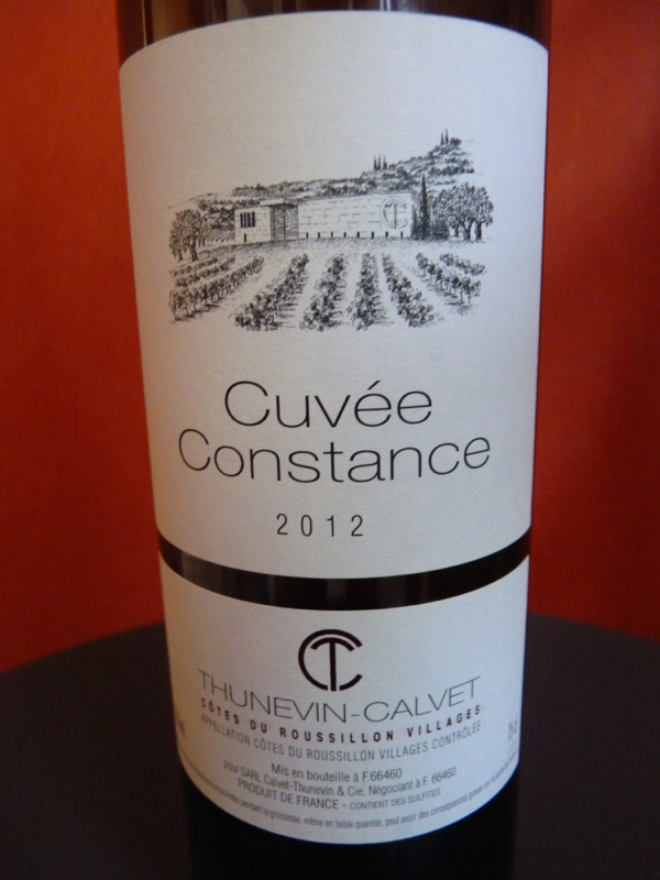 cuvee constance 2012 rouge