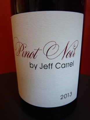 pinot noir jeff carrel 2013
