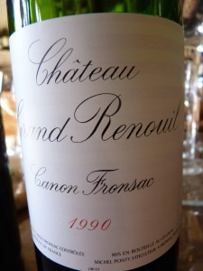 Chateau Grand Renoul 1990
