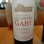 Chateau Les Roches Gaby 2008