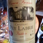 Chateau Pey Labrie 2009 Tradition