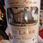 Chateau Pey Labrie Coeur Canon 2010