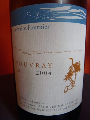 Lemaire Fournier Vouvray 2004
