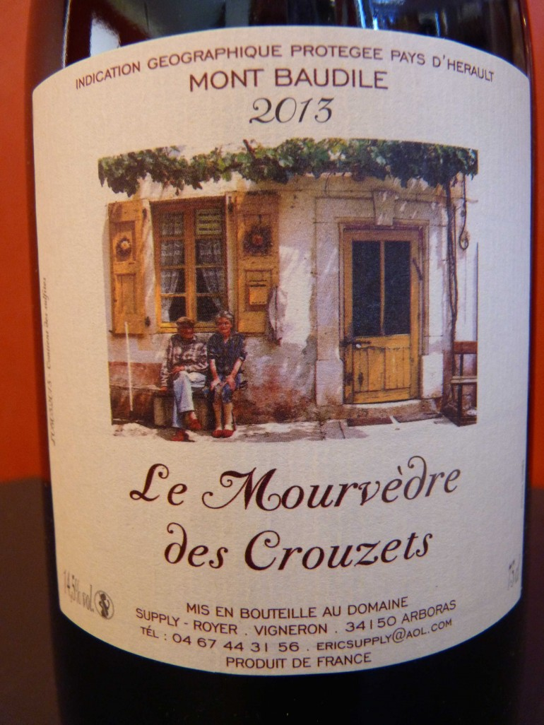 Mourvedre des Crouzets Supply Royer 2013