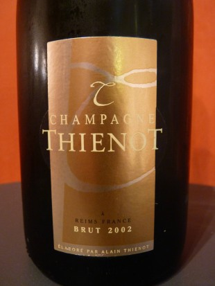 champagne Thienot millemime 2002