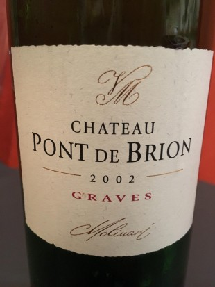 pont de brion 2002 Graves rouge